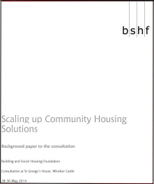 Scaling Up Community Housing Solutions