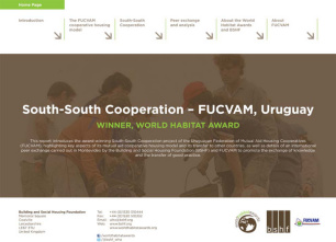 South-South Cooperation: transfer of the FUCVAM model of mutual aid housing cooperatives - peer exchange report