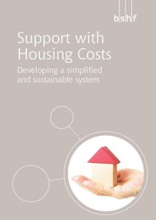 Support with Housing Costs: Developing a simplified and sustainable system