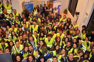 250 volunteers